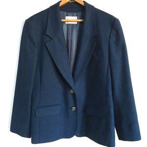 Vintage Navy Blue Pendleton Blazer